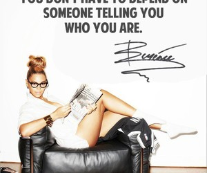 beyoncé and quote image