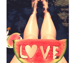 girl, legs, and summer image