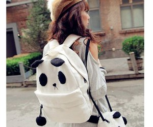 asian girl, bag, and asian style image