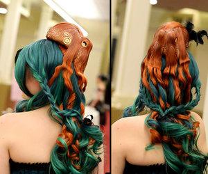 anime, cosplay, and hair image