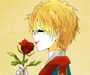blonde, prince, and rose image