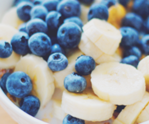 food, fruit salad, and healthy image