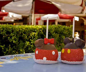 california, candy apple, and minnie image