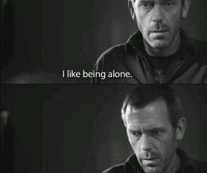 alone, quotes, and house image