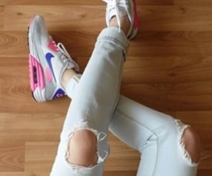 air max, nike, and swag image