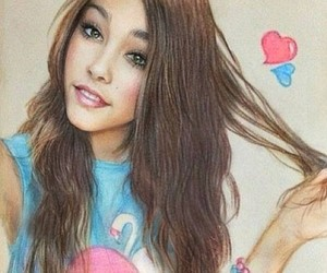 madison beer and drawing image