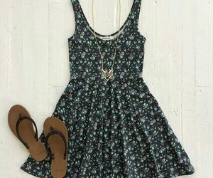 dress, love it, and summer outfit image