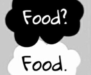 food, the fault in our stars, and tfios image