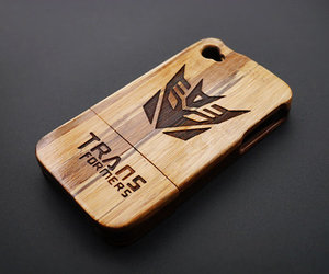 iphone 4 case, iphone 4s case, and wooden iphone 4 case image