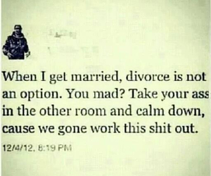 marriage, quote, and divorce image