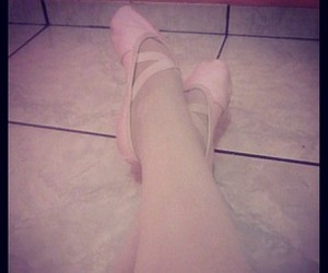 ballet, dancer, and feets image