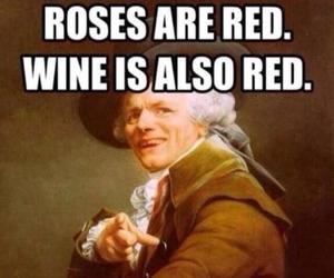funny, wine, and poem image