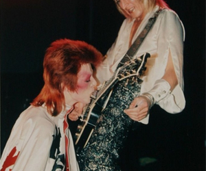 david bowie, Ziggy Stardust, and guitar image