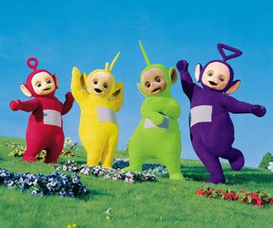 teletubbies, funny, and twenty one pilots image