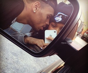 chris brown, love, and couple image