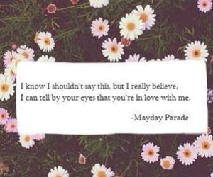 love, mayday parade, and band image