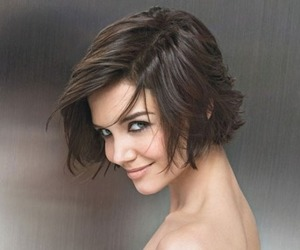 Katie Holmes, short hair, and hair image