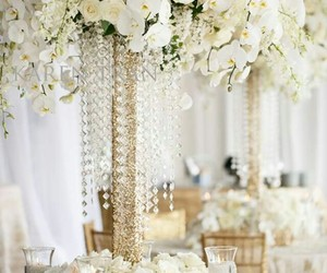 flower, roses, and table setting image