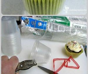 cupcake, diy, and holder image