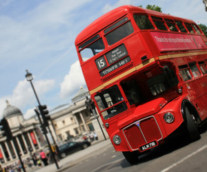bus, london, and photography image