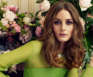 olivia palermo, beauty, and flowers image