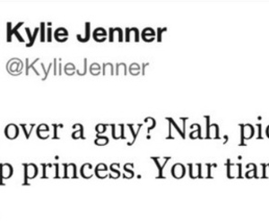 quote, kylie jenner, and twitter image