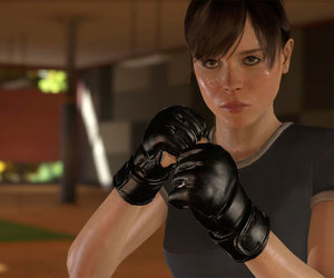 ellen page, training, and beyond: two souls image