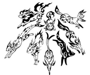 pokemon, eevee, and tattoo image
