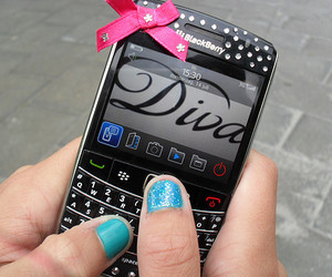 blackberry, blue, and diva image