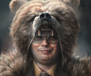 bear and the office image