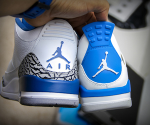 blue and jordan image