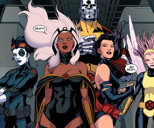 storm and x-men image