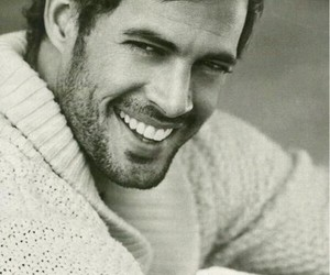 actor, guapo, and black and white image