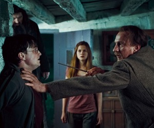 harry potter, ginny weasley, and lupin image