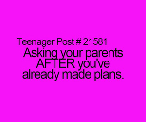 funny, parents, and teenagers image