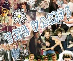 boyband, thevamps, and jamesmcvey image