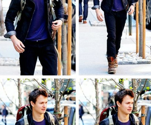 ansel elgort, the fault in our stars, and augustus waters image