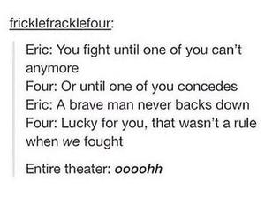 divergent, eric, and film image
