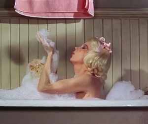 actress, bath, and old hollywood image