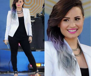 Central Park, demi lovato, and really don't care image