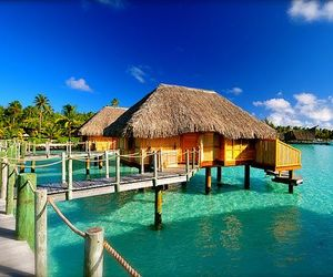 amazing, beach cottage, and the maldives image