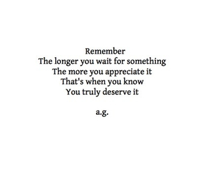 quote, remember, and wait image