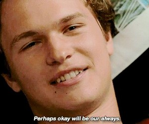 okay, the fault in our stars, and augustus waters image