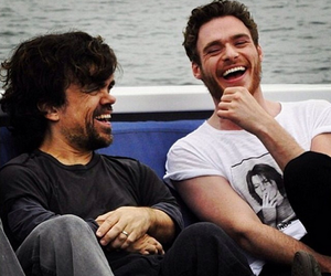 game of thrones, richard madden, and peter dinklage image