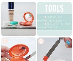 diy, makeup, and beauty image