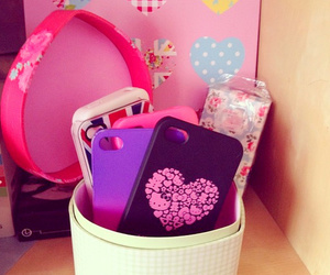 iphone, girly, and pink image