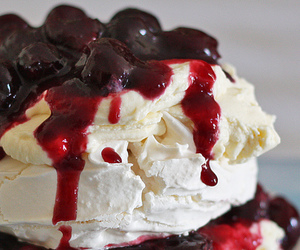 sweet, cherry, and food image