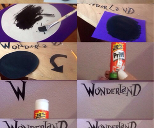 cheap, diy, and wonderland image