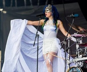 blue hair, arch enemy, and queenbeast image