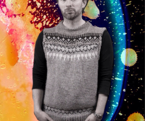 album cover, sweater, and thom yorke image